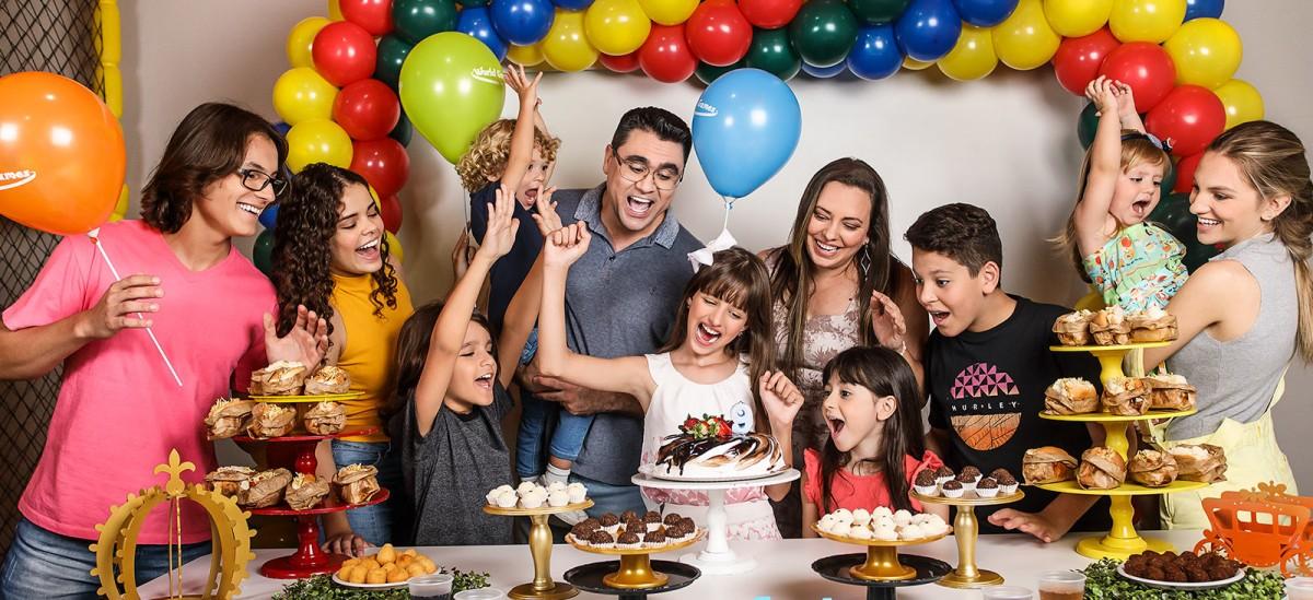 Faça a sua festa com a gente!